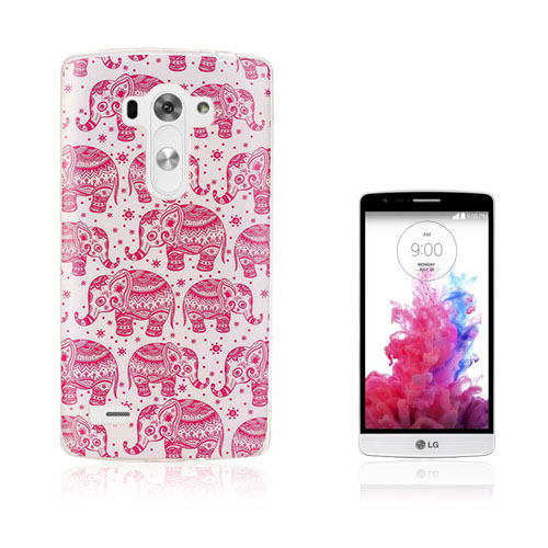 Westergaard LG G4s Skal – Rosa Elefanter