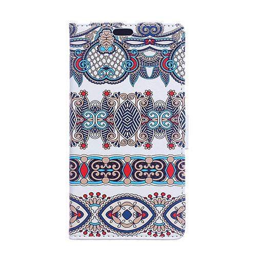 Moberg LG G4s Läder Fodral – Arabiske Blommor Mönster