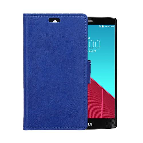 Garborg LG G4s Läder Fodral – Blå