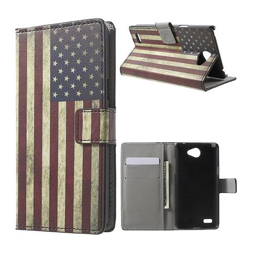 Moberg LG L Bello II Fodral – Vintage US Flagga