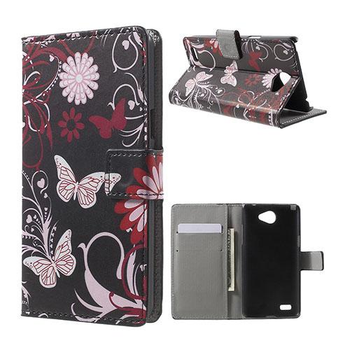 Moberg LG L Bello II Fodral – Fjärilar och Blommor