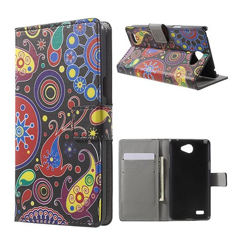 Moberg LG L Bello II Fodral – Paisley Blommor