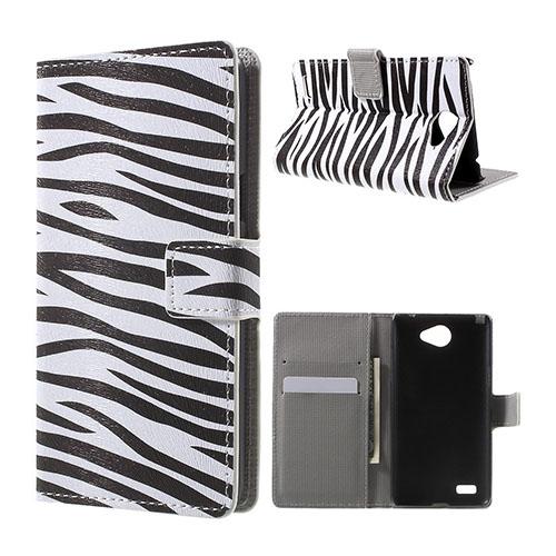 Moberg LG L Bello II Fodral – Zebra Ränder