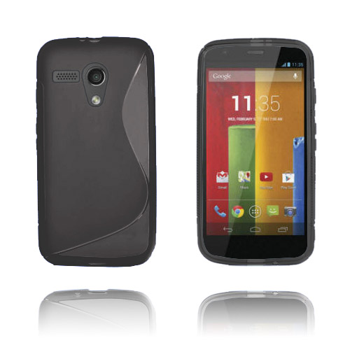 S-Line (Svart) Motorola Moto G Skal