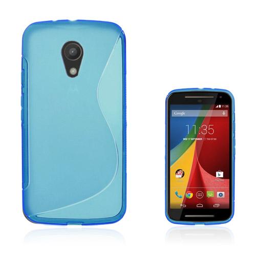 Lagerlöf (Blå) Motorola Moto G2 Skal