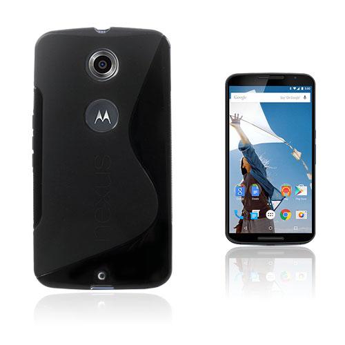 Lagerlöf (Svart) Motorola Nexus 6 Skal