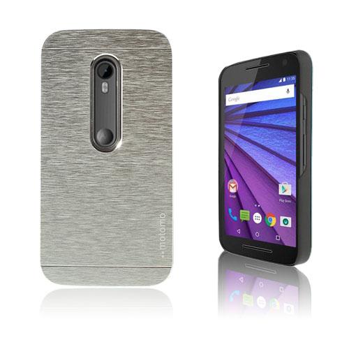 MOTOMO Motorola Moto G 3rd Gen Skal – Silver