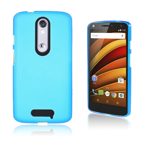 Wulff Motorola Moto X Force Skal – Blå