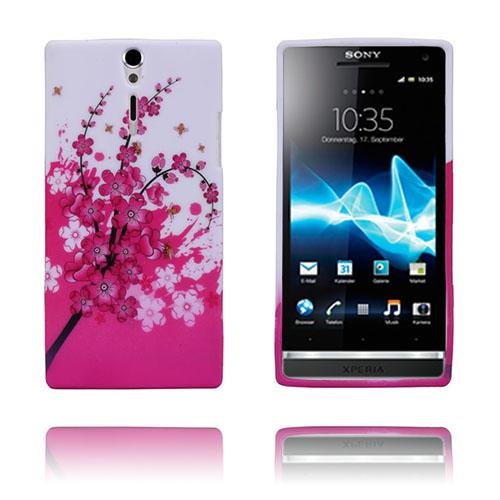 Symphony (Rosa) Sony Xperia S Skal