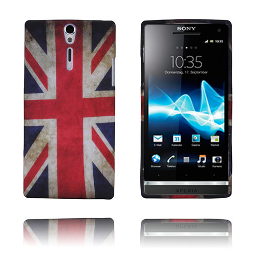 Retro Flag (UK) Sony Xperia S Skal