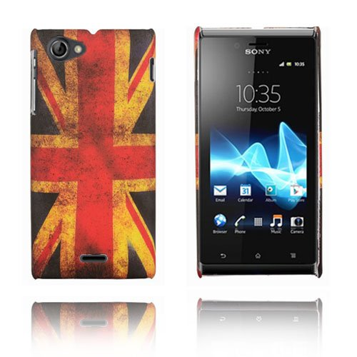 Retro Flag (UK) Sony Xperia J Skal