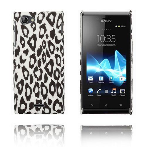 Zebra (Leopard) Sony Xperia J Skal
