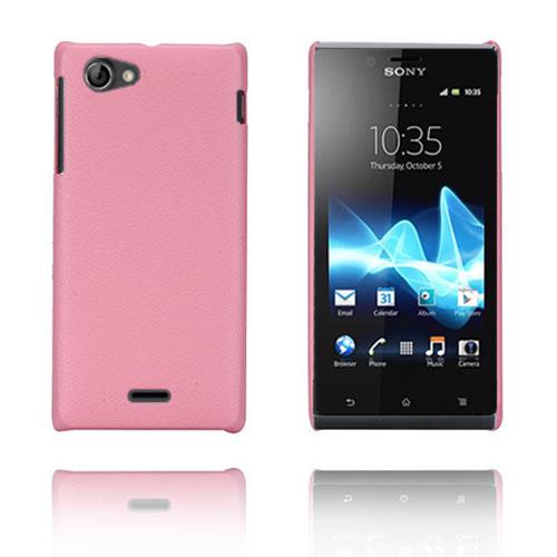 Alpha (Rosa) Sony Xperia J Skal