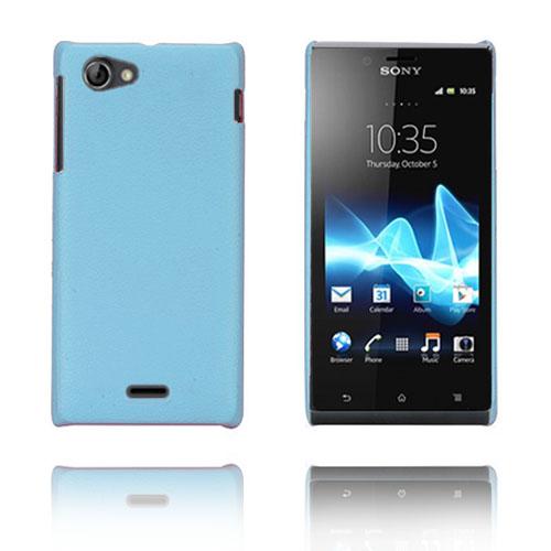 Alpha (Blå) Sony Xperia J Skal