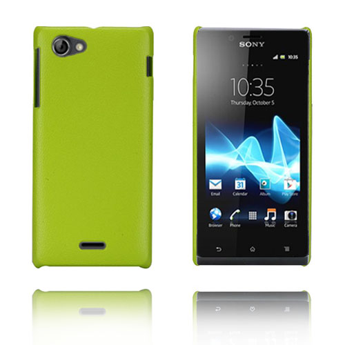 Alpha (Grön) Sony Xperia J Skal