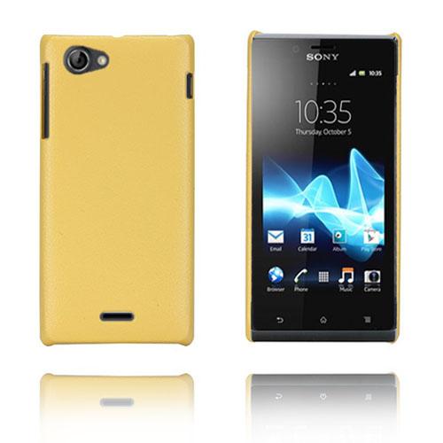 Alpha (Gul) Sony Xperia J Skal