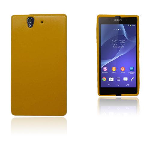 Sparkly Soft Shell (Gul) Sony Xperia Z Skal