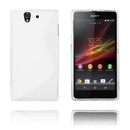 S-Line (Vit) Sony Xperia Z Skal