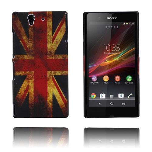Retro Flag (UK) Sony Xperia Z Skal