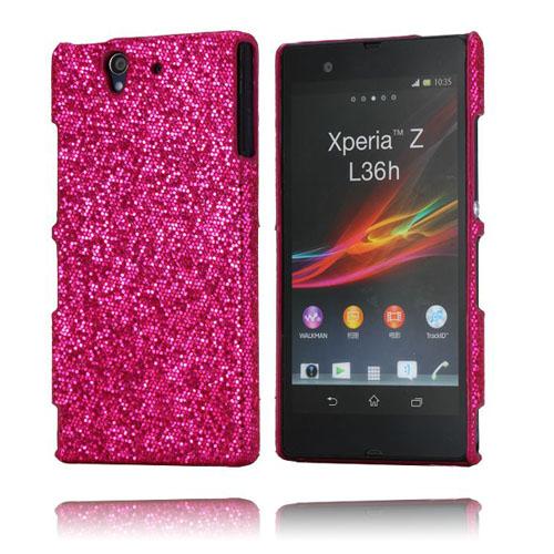 Glitter (Het Rosa) Sony Xperia Z Skal