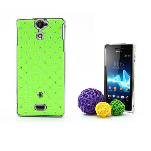 Sparkle (Grön) Sony Xperia V Skal