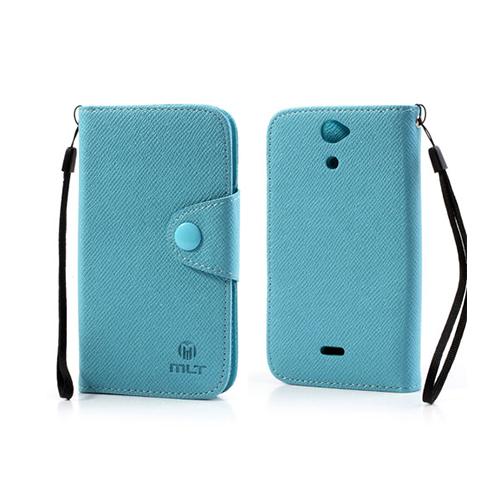 Gamma (Blå) Sony Xperia V PU-Läderfodral