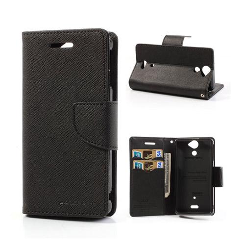Mercury Sony Xperia V Flip Fodral – Svart