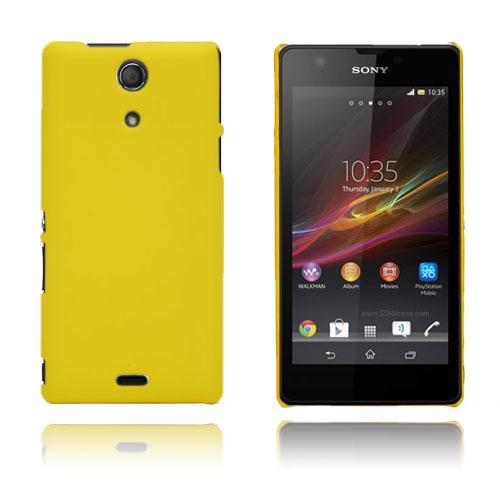 Lent (Gul) Sony Xperia ZR Skal