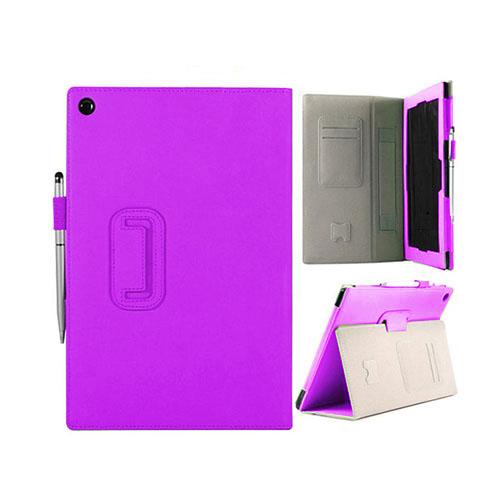 Alpha (Lila) Sony Xperia Tablet Z Läderfodral