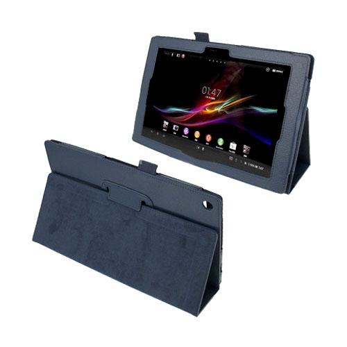 Simple (Blå) Sony Xperia Tablet Z 10.1 Läderfodral
