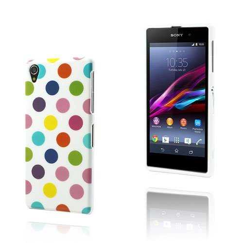 Polka Dots (Brokig) Sony Xperia Z1 Skal