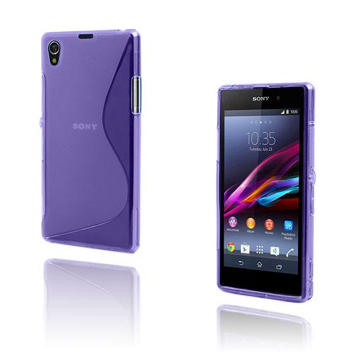 S-Line (Lila) Sony Xperia Z1 Skal