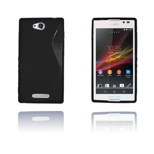 S-Line (Svart) Sony Xperia C Skal