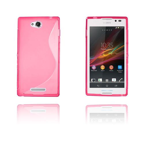 S-Line (Rosa) Sony Xperia C Skal