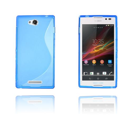 S-Line (Blå) Sony Xperia C Skal