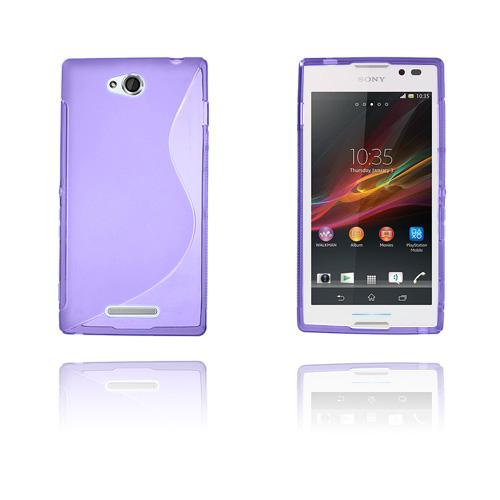 S-Line (Lila) Sony Xperia C Skal