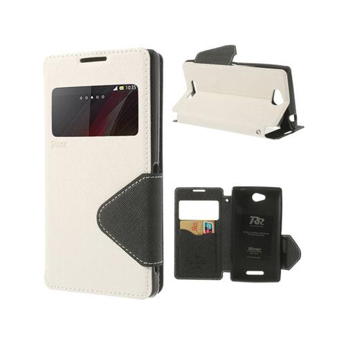 Techno (Vit) Sony Xperia C Flip-Fodral