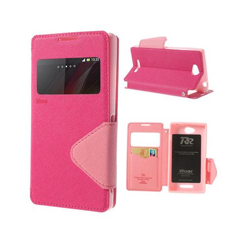Techno (Rosa) Sony Xperia C Flip-Fodral