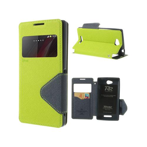 Techno (Grön) Sony Xperia C Flip-Fodral