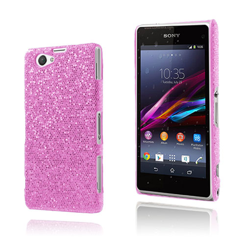 Glitter (Rosa) Sony Xperia Z1 Compact Skal