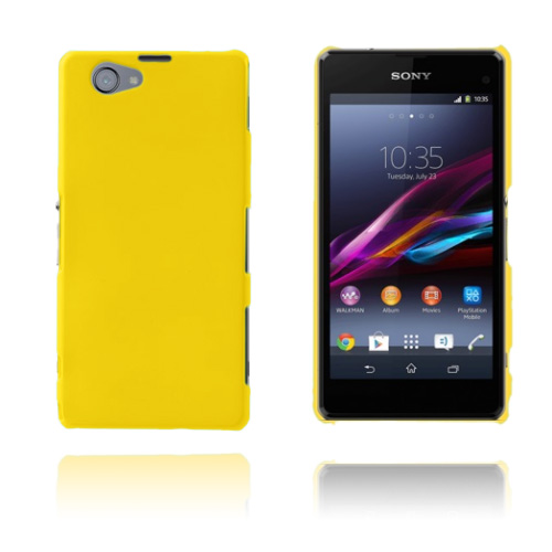 Hard Shell (Gul) Sony Xperia Z1 Compact Skal