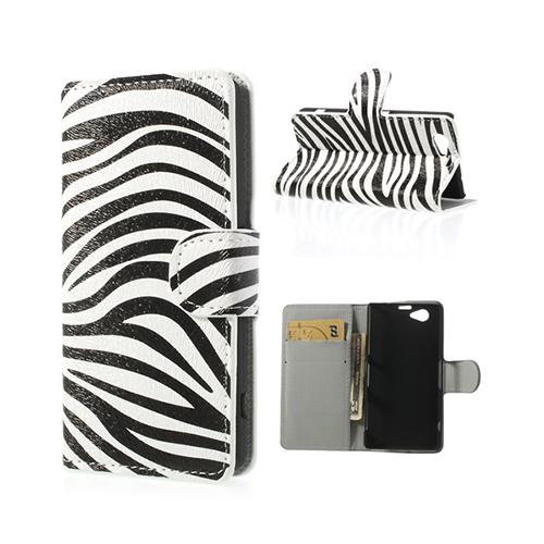 Festival (Zebra) Sony Xperia Z1 Compact Fodral