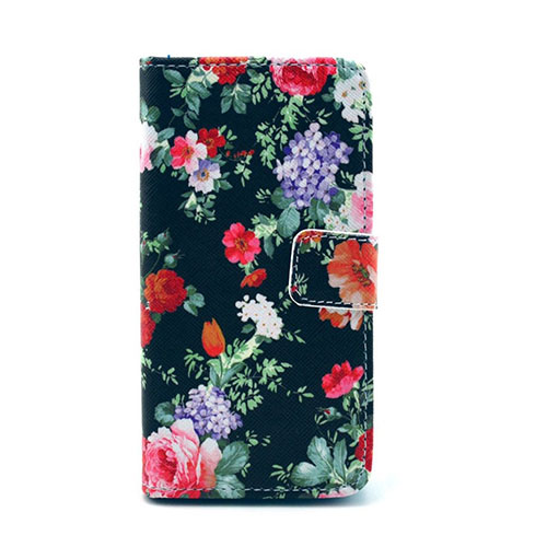 Moberg Sony Xperia Z1 Compact Läder Fodral – Vacker Blommor