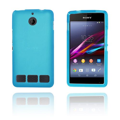 Soft Shell (Ljusblå) Sony Xperia E1 Skal