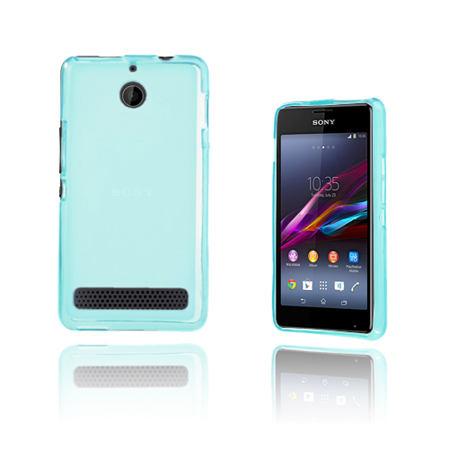 GelCase (Blå) Sony Xperia E1 Skal