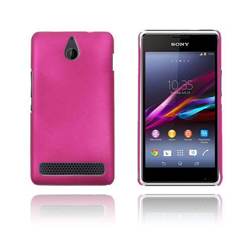 Hard Shell (Knallrosa) Sony Xperia E1 Skal
