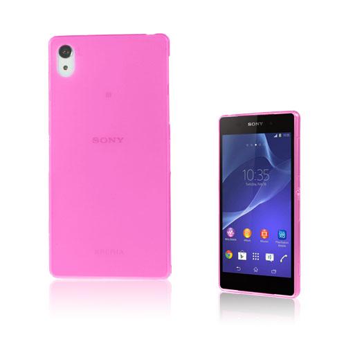 Hard Shell (Rosa) Sony Xperia Z2 Skal