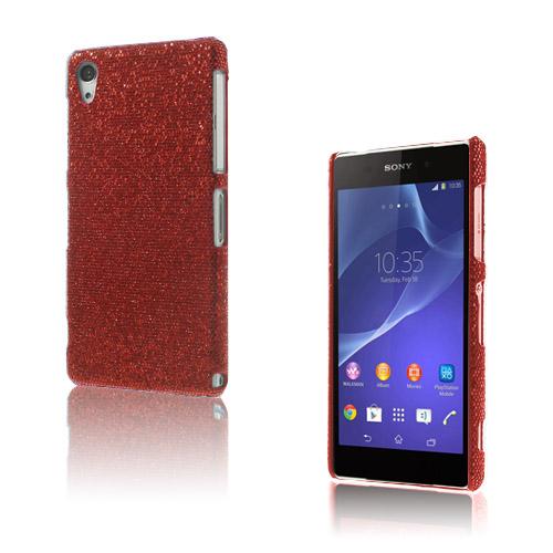 Glitter (Röd) Sony Xperia Z2 Skal