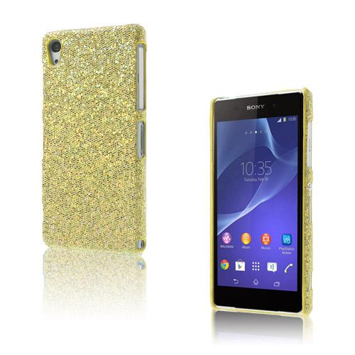 Glitter (Guld) Sony Xperia Z2 Skal