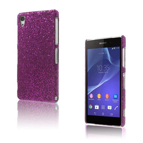 Glitter (Lila) Sony Xperia Z2 Skal